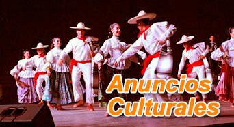 Anuncios Culturales en INGRESO LIBRE de ArtesUnidas.com