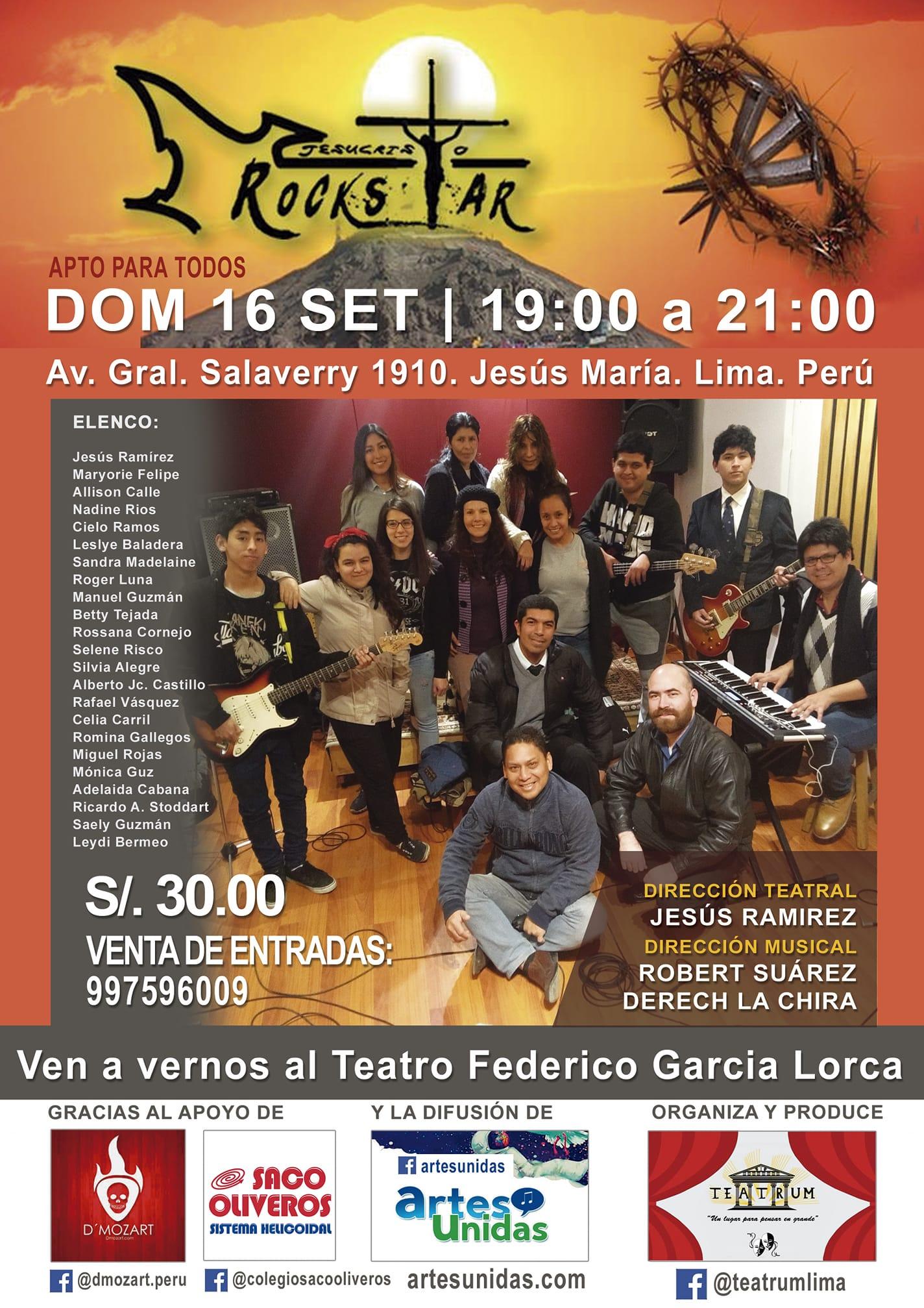 Afiche de Jesucristo Rock Star