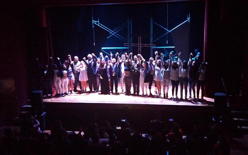Jesucristo Rockstar se presentó en Lima