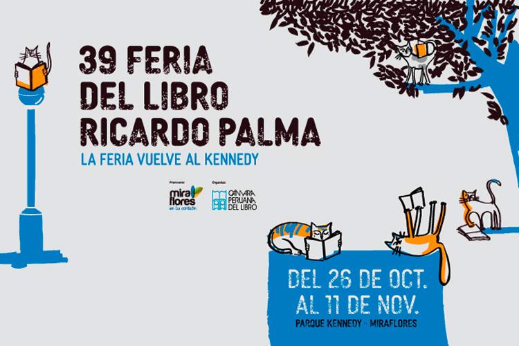 39 Feria del Libro Ricardo Palma en el Parque Kennedy - ArtesUnidas.com