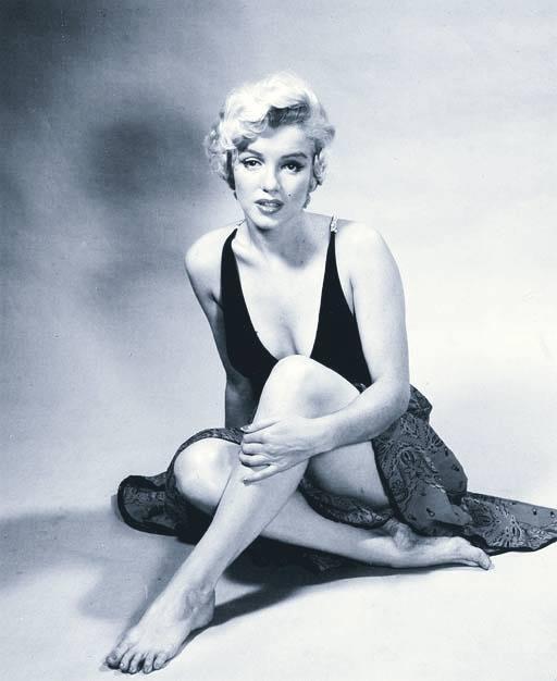 Marylin Monroe fotografía de Philippe Halsman
