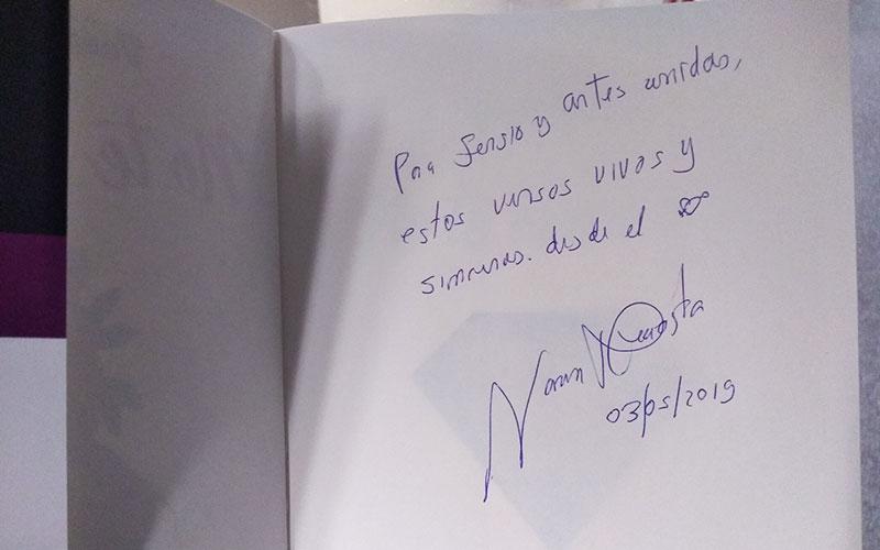 Gracias Vanessa por el Obsequio y dedicatoria a ArtesUnidas - ArtesUnidas.com