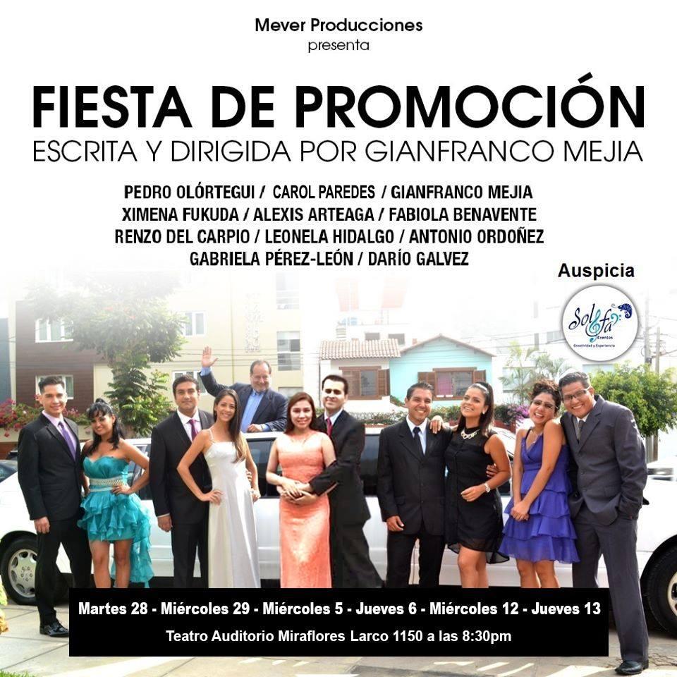 Fiesta de Promoción - Mever Producciones - Gianfranco Mejia -ArtesUnidas.com