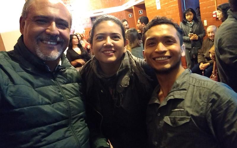 """Junto a Mauro Liza en el estreno de """"En nombre de otro crimen"""" - ArtesUnidas.com"""