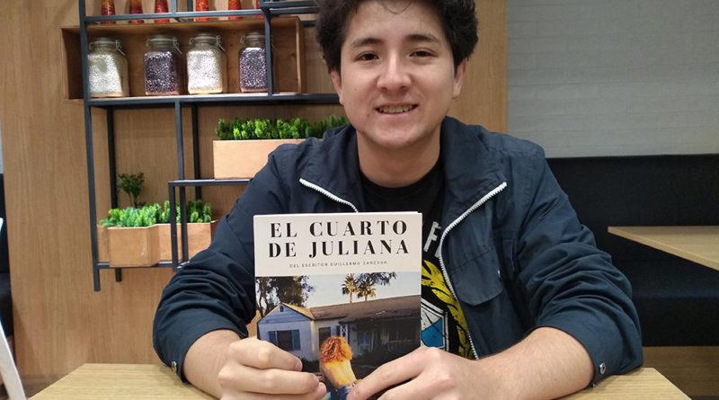 Guillermo Zarzosa escribe su primera novela a los 19 años - ArtesUnidas.com