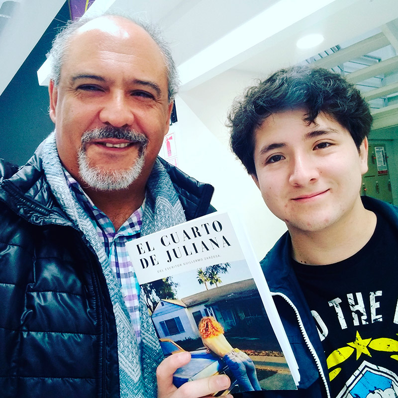 Celebrando la entrevista y el reencuentro en torno a la Literatura - ArtesUnidas.com