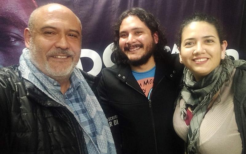 Con Fito Bustamante Director de la Obra - ArtesUnidas.com