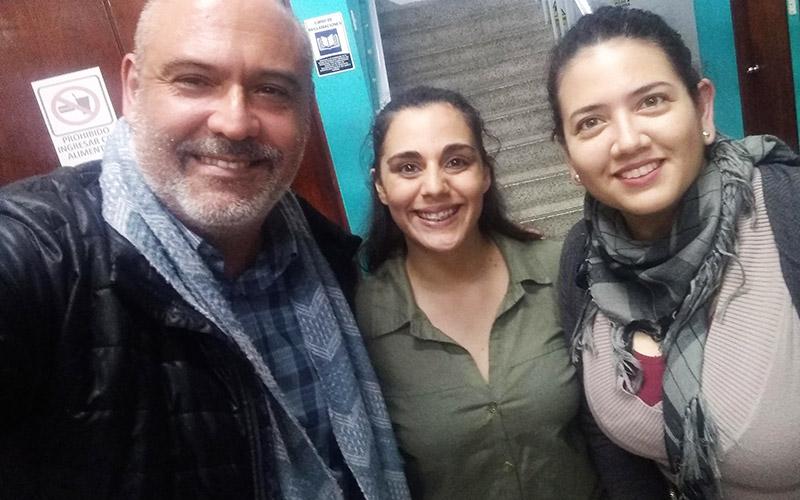 Con Maryfé Asparria Actriz - ArtesUnidas.com
