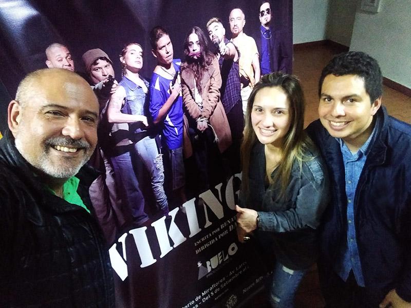 Celebrando el Estreno de Vikingos en el Teatro Auditorio Miraflores - ArtesUnidas.com