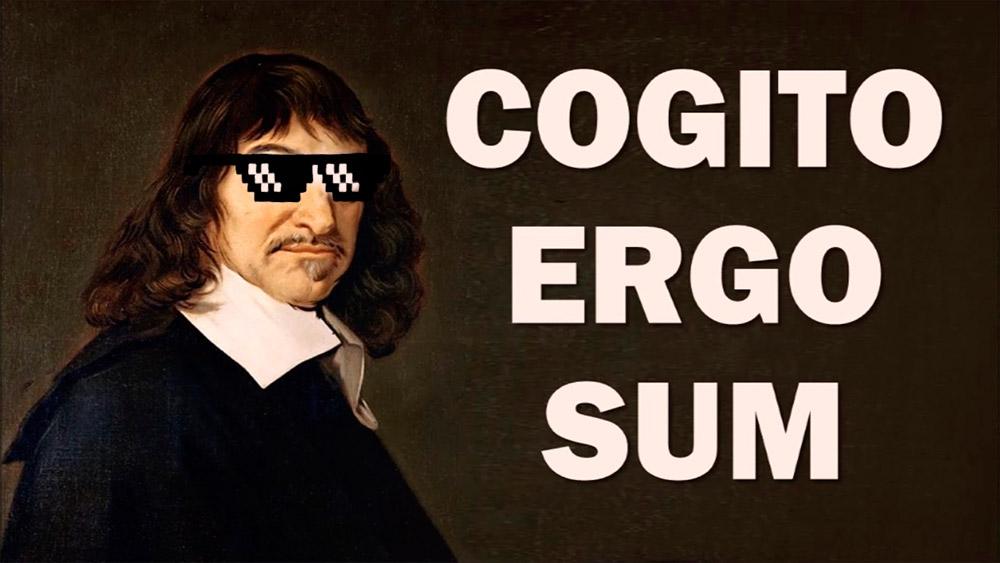 Cogito Ergo Sum - Postulado de Descartes - ArtesUnidas.com