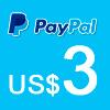 Donación vía Pay Pal Artes Unidas US$ 3.00 - ArtesUnidas.com