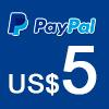 Donación vía Pay Pal Artes Unidas US$ 5.00 - ArtesUnidas.com
