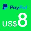 Donación vía Pay Pal Artes Unidas US$ 8.00 - ArtesUnidas.com