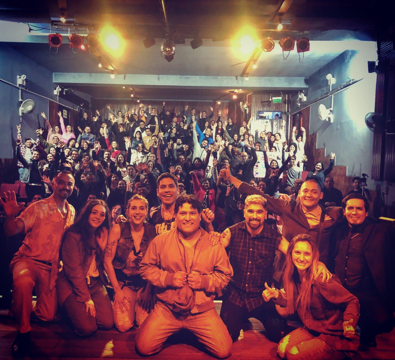 Estreno de Vikingos Teatro Auditorio Miraflores - 06-09-2019 (Imagen de: Abuelo Producciones)