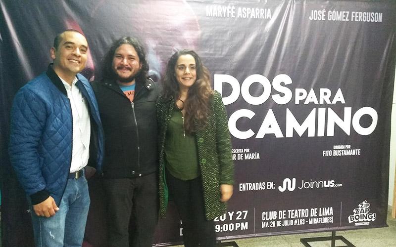 MaryFé, Fito y José en Dos para el Camino - ArtesUnidas.com