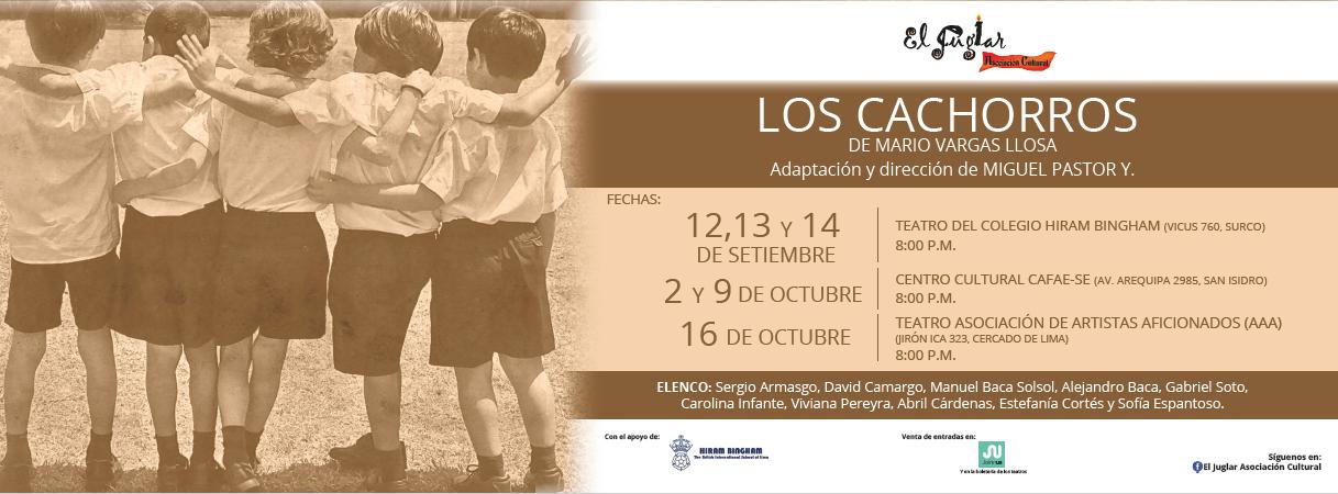 Flyer Los Cachorros - Juglar Asociación Cultural