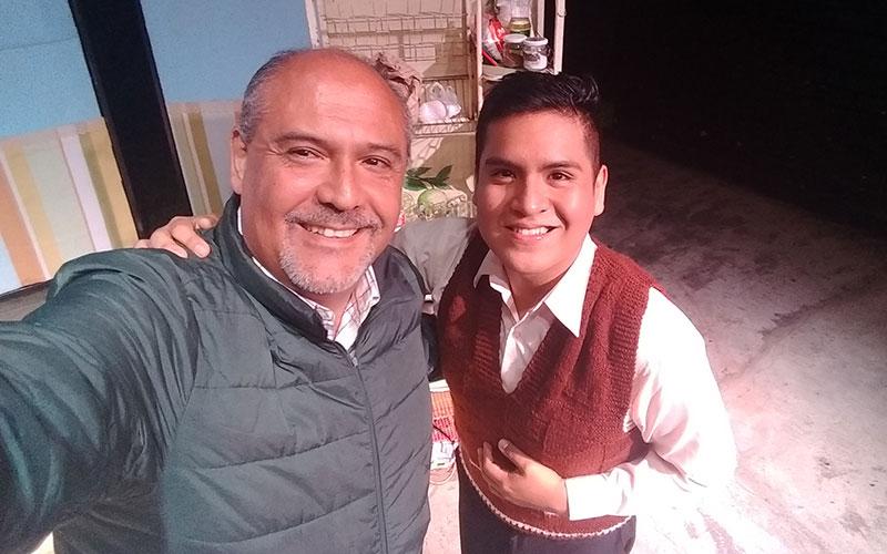 """Cristhian Palomino y Sergio González en """"Y ahora: ¿Qué hacemos con Jacinto? - ArtesUnidas.com"""