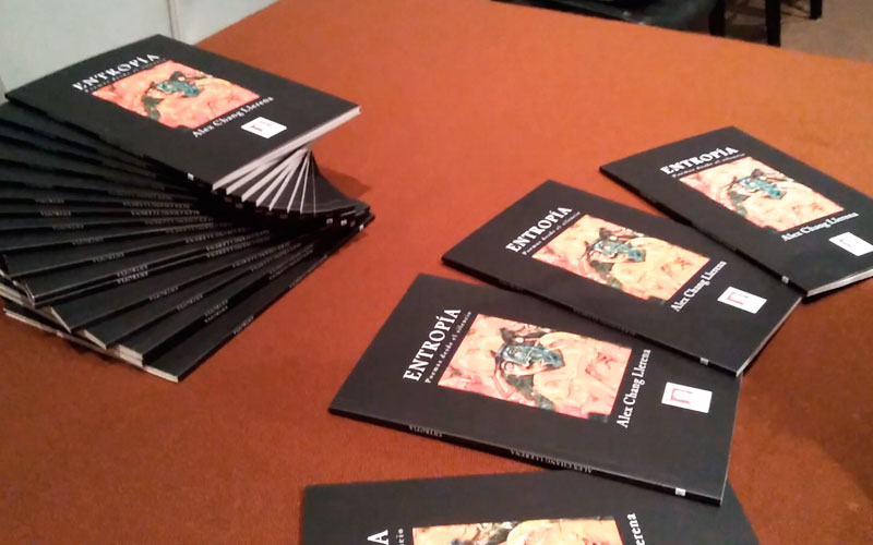 "Poemario ""Entropia"" publicado por Golem Editores - ArtesUnidas.com"