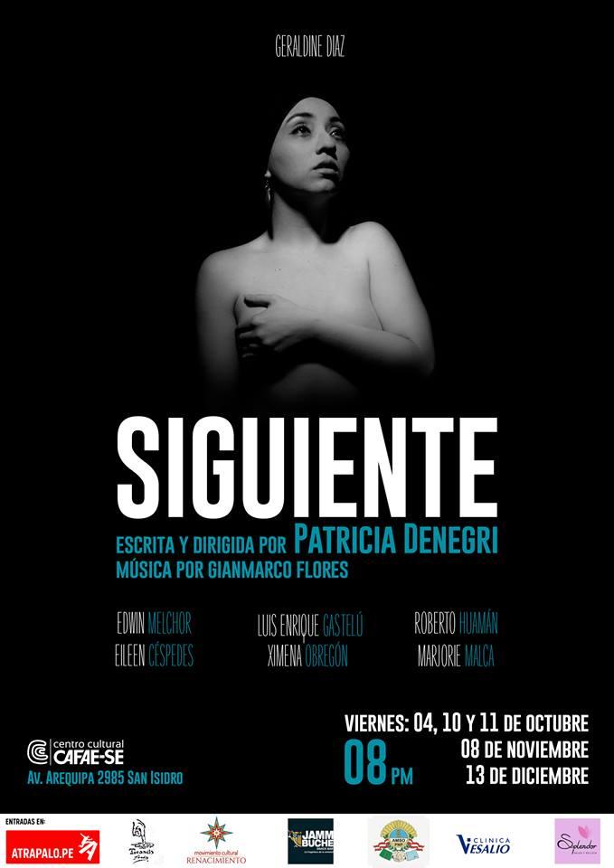 Reestreno de SIGUIENTE - 08 y 13 de Noviembre Últimas fechas - ArtesUnidas.com