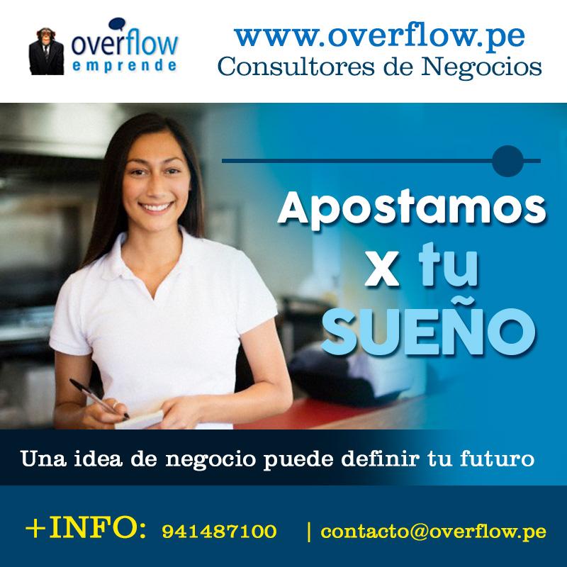 Somos Asesores de Emprendedores Visita Overflow.pe
