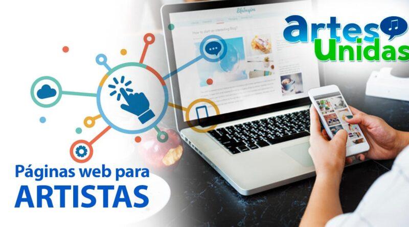 Páginas Web para Artistas - ArtesUnidas.com