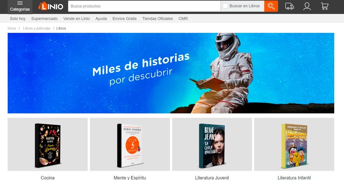 Catálogo virtual de libros en Lineo - ArtesUnidas.com