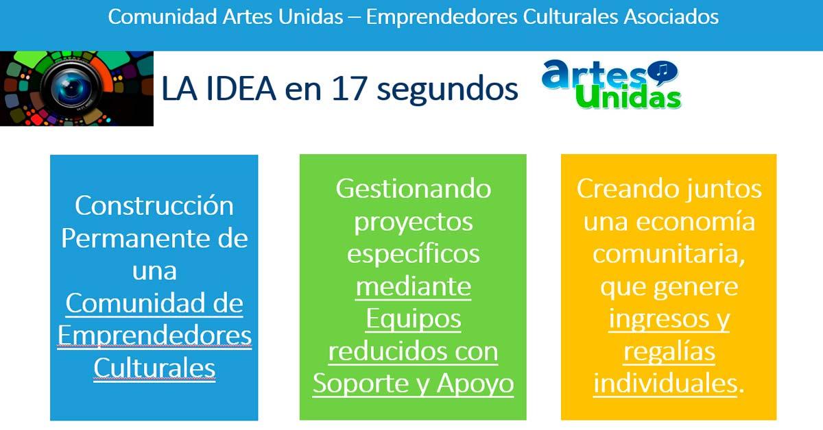 Comunidad Artes Unidas - La idea en 17 segundos