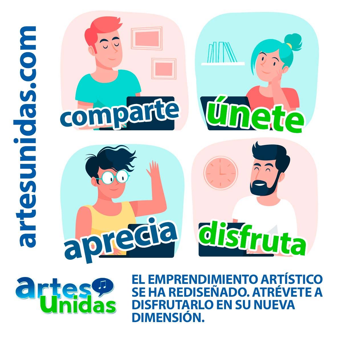 Apoya el Emprendimiento Artístico - ArtesUnidas.com