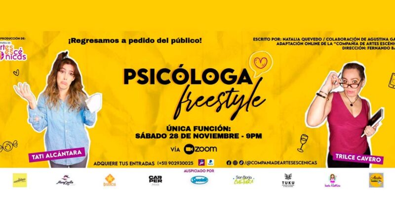 Psicóloga Freestyle - Última función 28-11-2020
