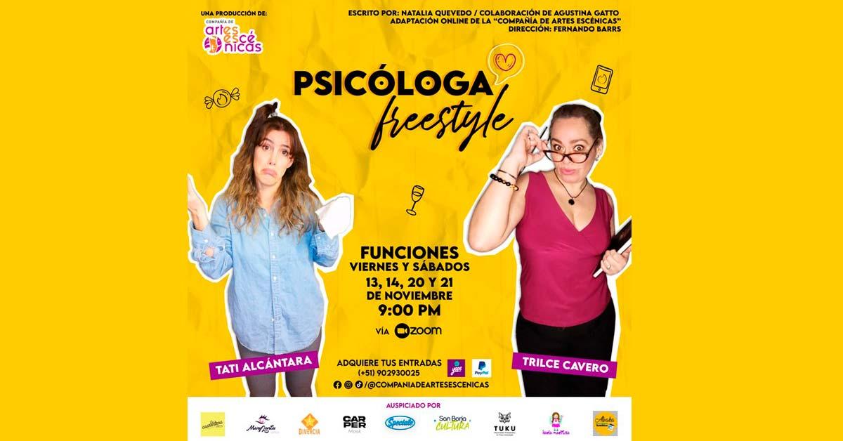 Psicóloga Freestyle - Comedia Femenina y Psicológica - ArtesUnidas.com