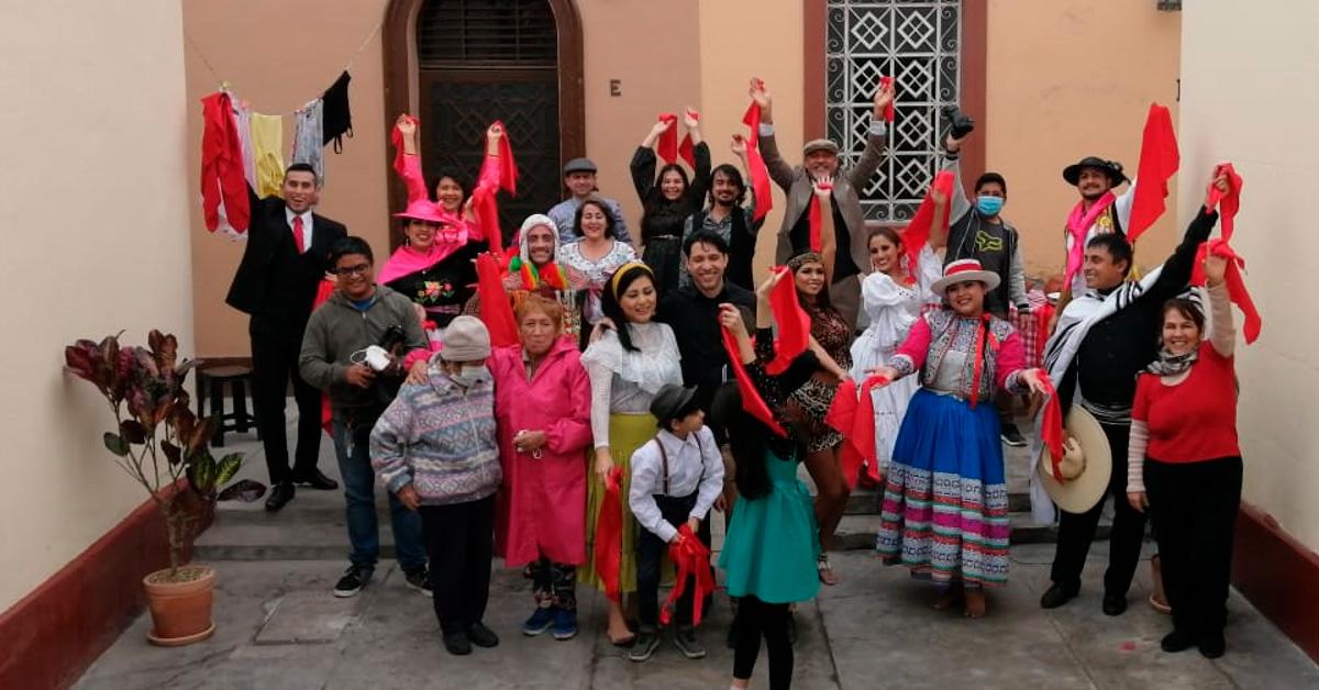 Baila mi Perú un videoclip integrador - ArtesUnidas.com